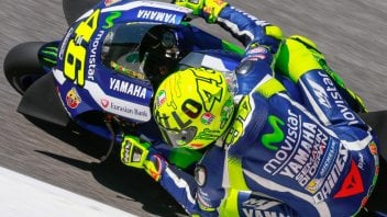 Show of strength: Valentino Rossi on the pole at Mugello
