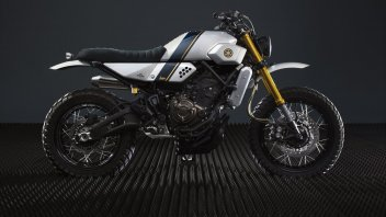 Yamaha Yard Built XSR 700 by Bunker Custom Motorcycles