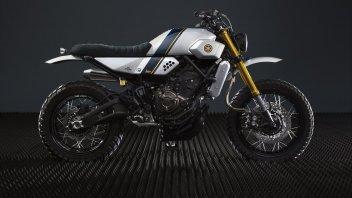 Yamaha Yard Built XSR 700 by Bunker Custom Motorcycles