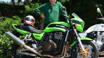 Un motociclista vuole rendere Roma più sicura per le due ruote
