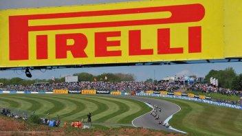 Pirelli: A Donington anche la nuova morbida V0377