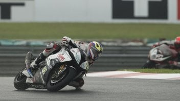"Reiterberger: ""First race in the wet, I'm satisfied"""