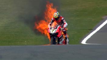 FP2: scintille tra Sykes e Rea, Davies in fiamme