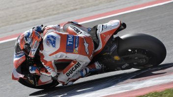 Stoner at the Misano tests: steps forward with Ducati