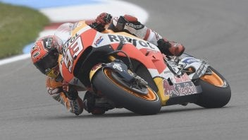 Marquez from 11th to 3rd: my fault, I wasn't riding at 100%