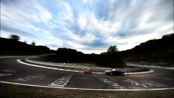 In pista al Nurburgring, l' 'inferno verde'