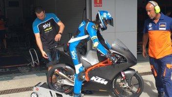 A Jerez il caldo complica i test KTM