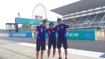 Yamaha conclude i test a Suzuka per la 8 Ore