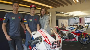 Hayden e vd Mark: com'è bella la Superbike