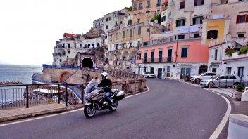 Mototurismo: in Costiera Amalfitana con la BMW R 1200 RT