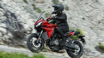 Yamaha Tracer 700: media superiore