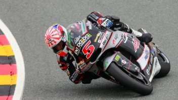 Zarco with a photo finish race on the Sachsenring
