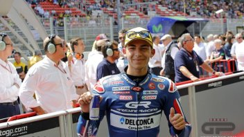 Bastianini with team Ajo and KTM in 2017