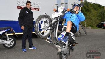 Andrea Migno: a wheelie is good for health