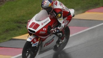 WUP: out of the rain at the Sachsenring Pawi appears