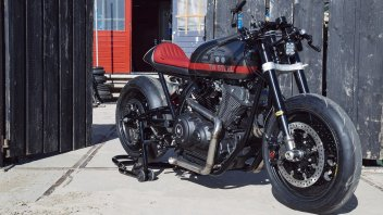 """Moto - News: Yamaha Yard Built XV950 """"Son Of Time"""" by Numbnut Motorcycles"""