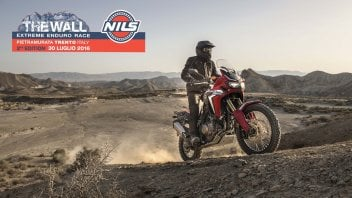 Honda Africa Twin - The Wall Experience 2016