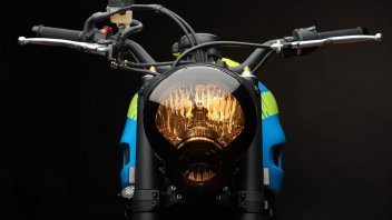 """""""Otokomae"""" by AdHoc: un'altra Yard Built su base Yamaha XSR 700"""