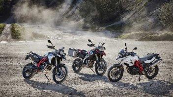 BMW Motorrad: F700 GS, F800 GS e F800 GS Adventure my '17