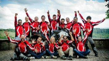 Ducati Globetrotter 90°: i sette eroi pronti per i 30.000