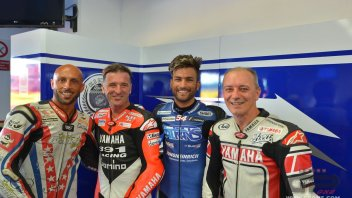 Gramigni e Yamaha lanciano 'Old School Racing'