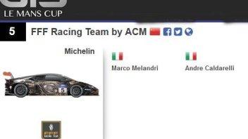 Melandri nella Michelin GT3 Le Mans Cup