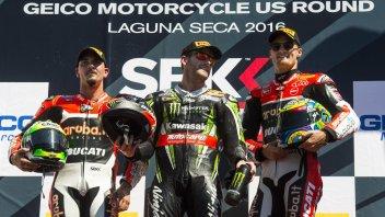 """Laguna Seca, Giugliano: """"Gara fantastica, un podio speciale!"""""""