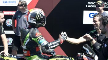 "Laguna Seca, Rea: ""Happy, but it wasn't my best race"""