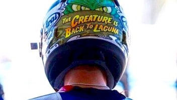 Hayden's helmet: Nicky is the 'Creature of Laguna'