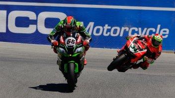 Sykes beats the Ducatis at Laguna Seca