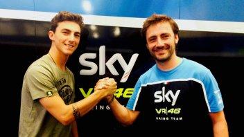 UFFICIALE: Francesco Bagnaia in Moto2 con lo Sky Racing TeamVR46