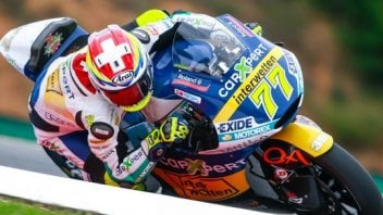 Dominique Aegerter in forse per Silverstone