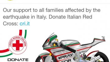 Forward supports the Red Cross for the earthquake victims