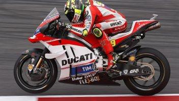 FP1: Iannone e la Ducati piegano Rossi e la Yamaha