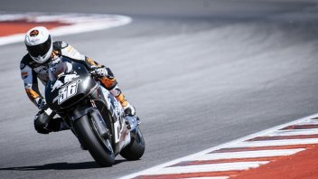 Test: KTM at Misano with new frame and fairing