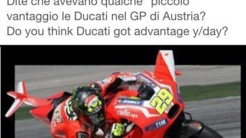 Biaggi jokes about Ducati one-two at the Red Bull Ring