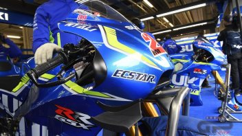 The new Suzuki GSX-RR winglets