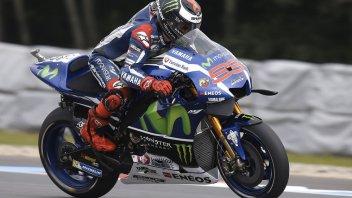 Lorenzo back on top in testing, Rossi 2nd