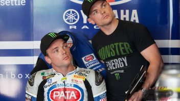 Alex Lowes sulla Yamaha M1 del team Tech3