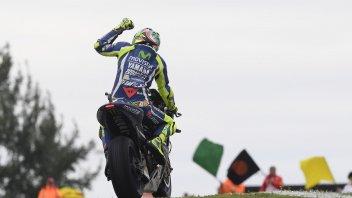 Rossi festeggia a Silverstone 250 gare nella classe regina