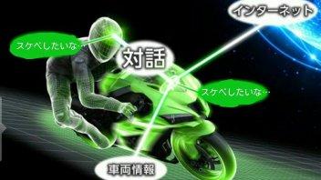 """Kawasaki: allo studio la moto che si """"preoccupa"""" del pilota"""