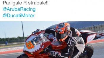 Melandri su twitter: meravigliosa Ducati Panigale
