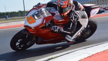 Melandri: back to the future with the Ducati Panigale