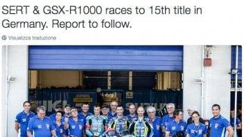 For the Suzuki Sert 15th World Endurance Championship