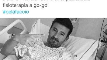 Max Biaggi operato ad un ginocchio