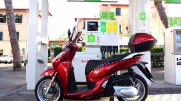 Moto - Scooter: Honda SH300i 2016 Euro4 - TEST CONSUMI