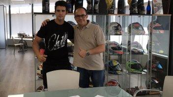 Isaac Vinales firma un biennale con il team SAG