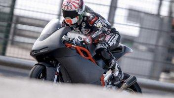Ad Aragon Zarco prova la KTM Moto2