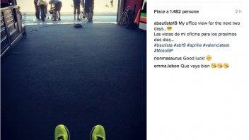 Valencia test for Aprilia with Bautista and Bradl