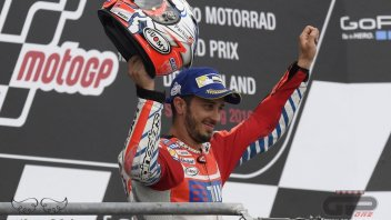 Dovizioso: tyre change? two laps earlier and we could have won